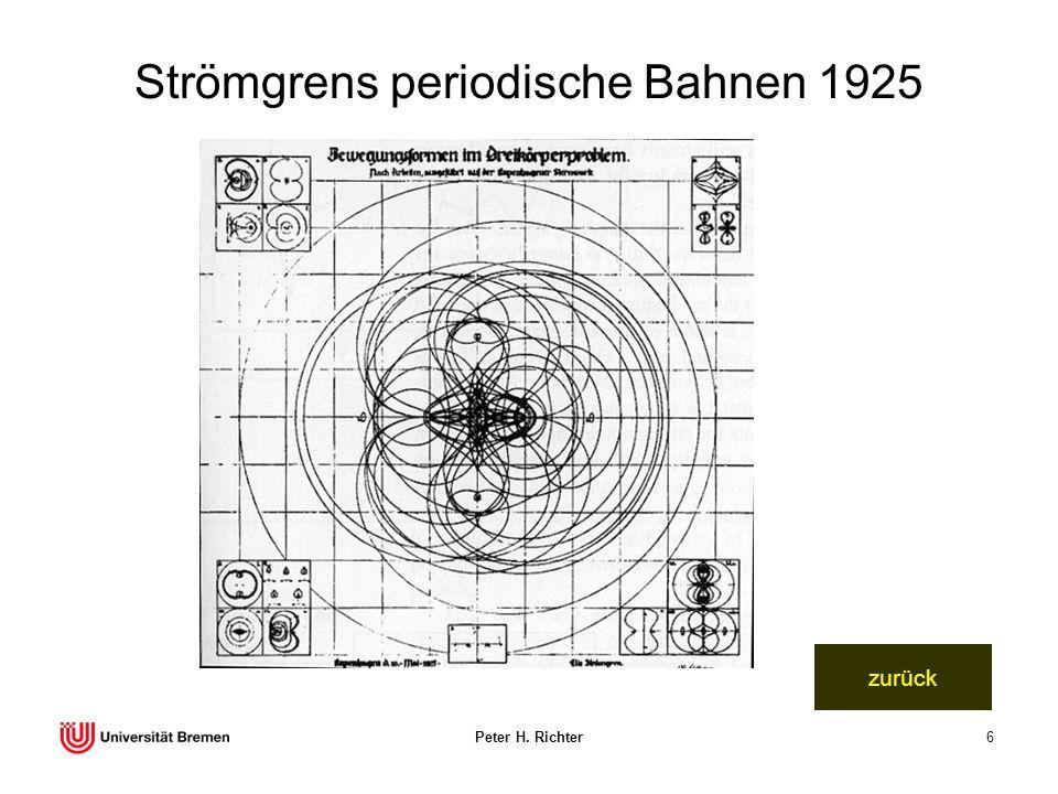 Peter H. Richter6 Strömgrens periodische Bahnen 1925 zurück