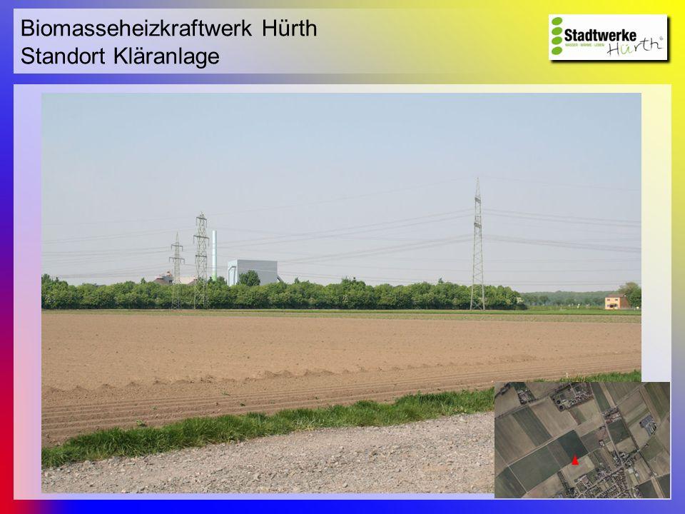 Biomasseheizkraftwerk Hürth Standort Kläranlage