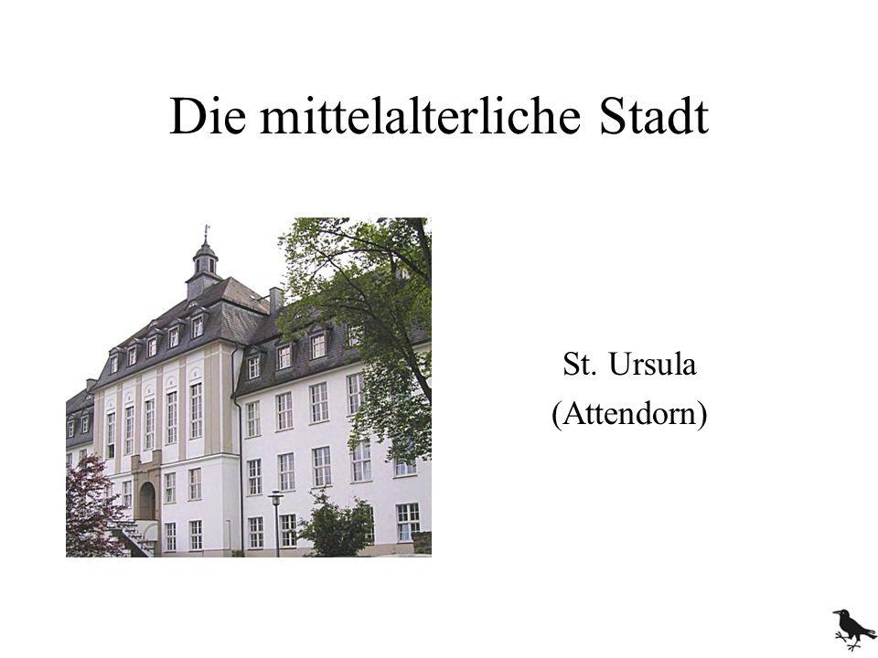 Die mittelalterliche Stadt St. Ursula (Attendorn)