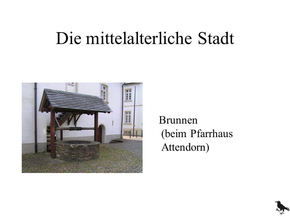 Brunnen (beim Pfarrhaus Attendorn)