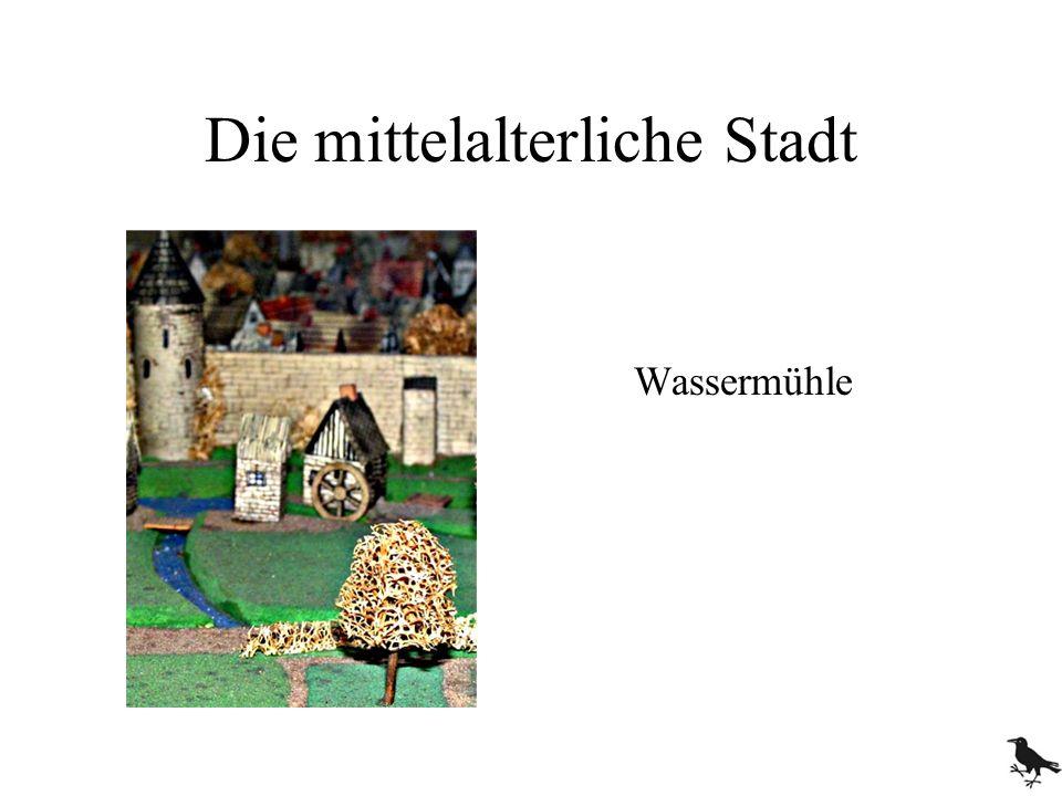 Die mittelalterliche Stadt Wassermühle