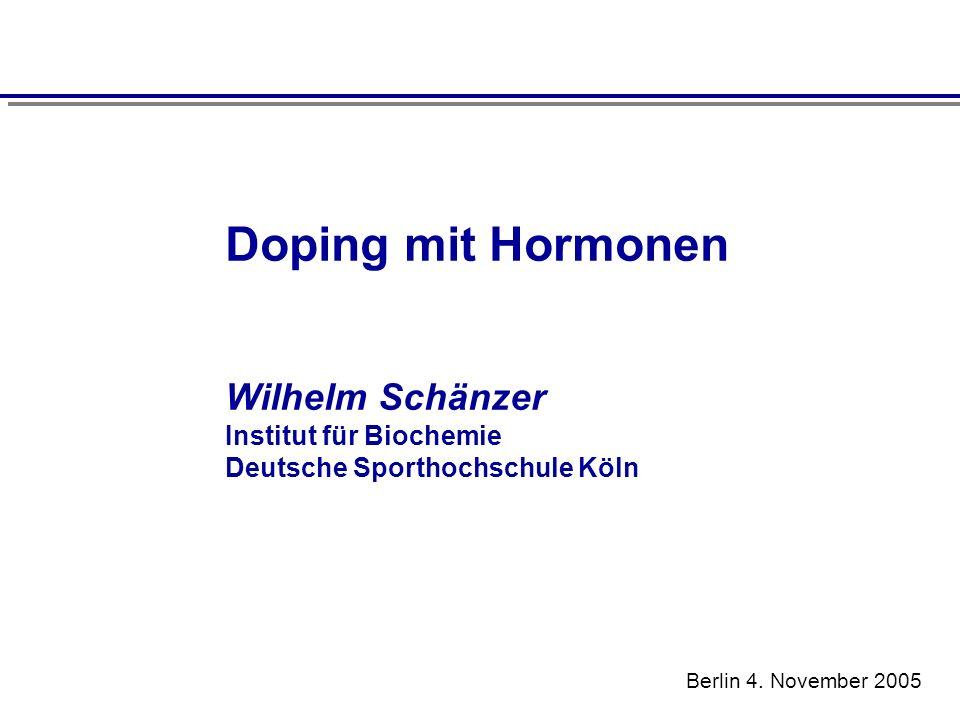 Doping mit Hormonen Positive nutritional supplements in relation to the total number of supplements purchased in different countries Geyer, H., Parr, M.K., Mareck, U., Reinhart, U., Schrader, Y., Schänzer, W.: Analysis of non-hormonal nutritional supplements for anabolic-androgenic steroids - Results of an international study.