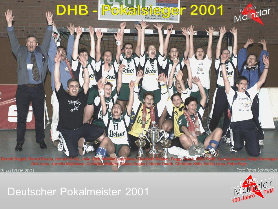 Deutscher Pokalmeister 2001
