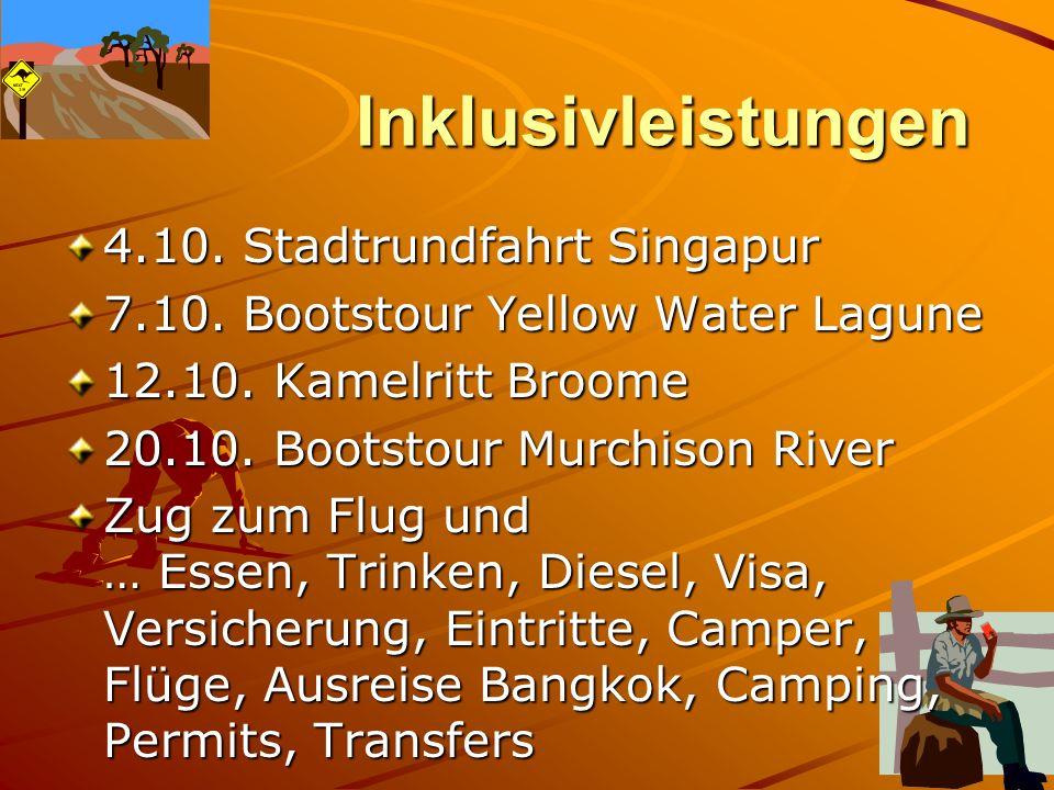 Optionalleistungen 10.10.Rundflug Bungle Bungles ca.