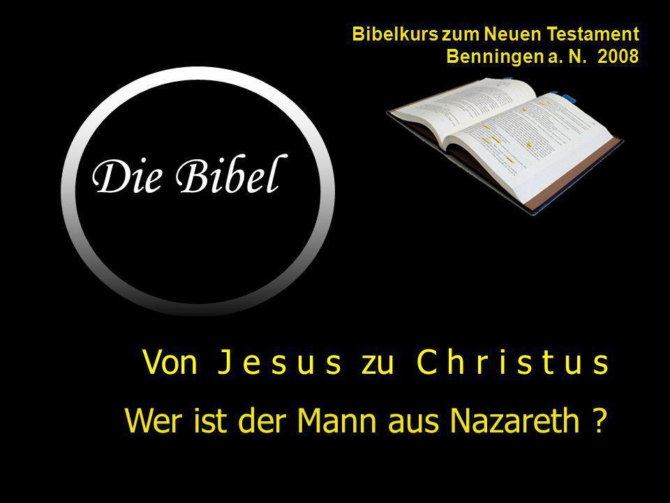 Zusammenfassung...TitelWas er tut:Seine innere Einstellung: Christus / Messiaspredigt (v.