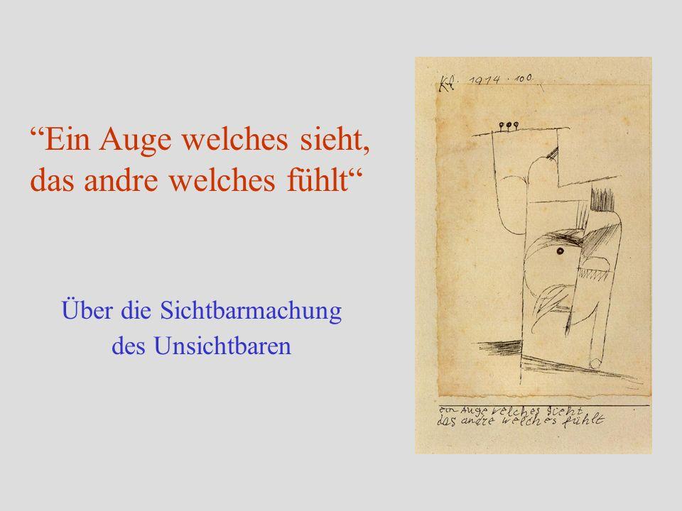 Versunkenheit (Selbstportrait – Bildnis eines Expressionisten), 1919 Kunst gibt nicht das Sichtbare wieder, sondern macht sichtbar.
