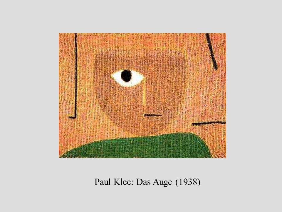 Paul Klee: Ohne Titel [Gefangen, Diesseits-Jenseits/Figur] (1940)