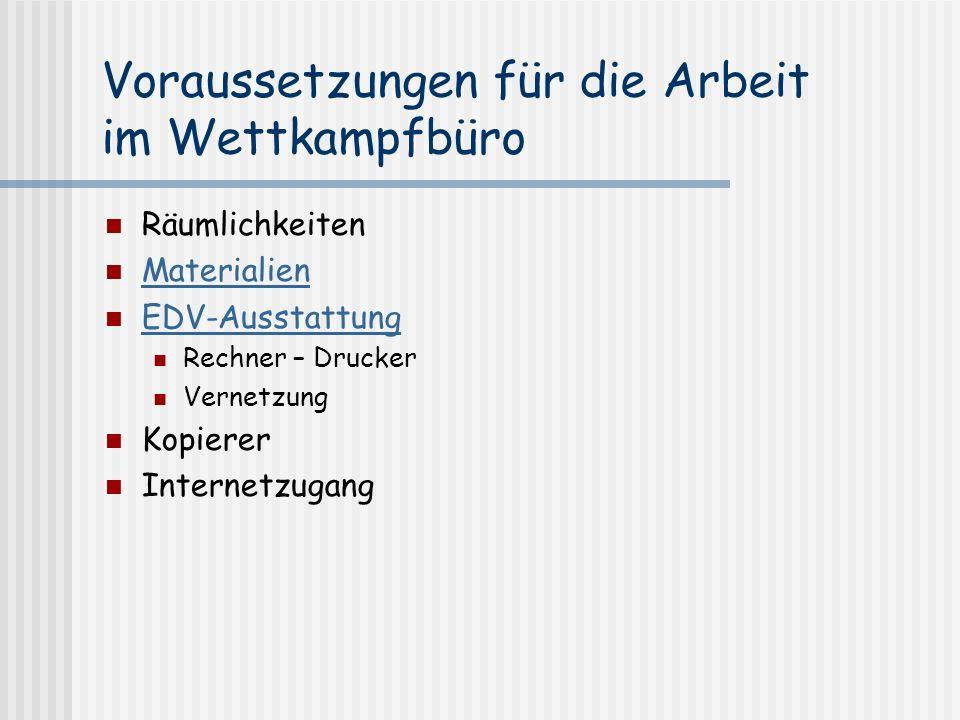 Presse und Öffentlichkeitsarbeit Erstellung einer verarbeitbaren Datei Textdatei Html-Datei (mit Startnummern) Pdf-Datei ( ggf.