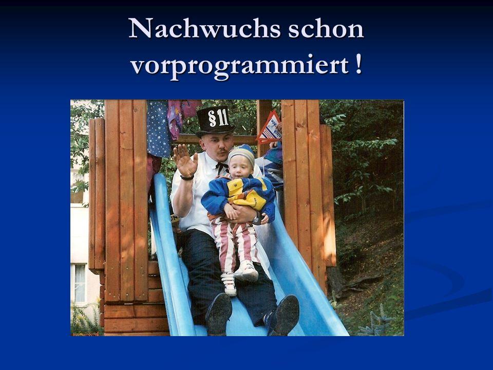 Kirmes 1996 Kay Schwappach, Heiko Schwarz, Patrick Oesteritz und Andre Schöler - Man beachte die kreativen Paragraphen