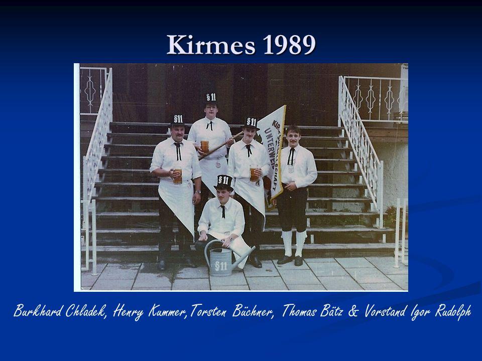 Kirmesgesellschaft 1989