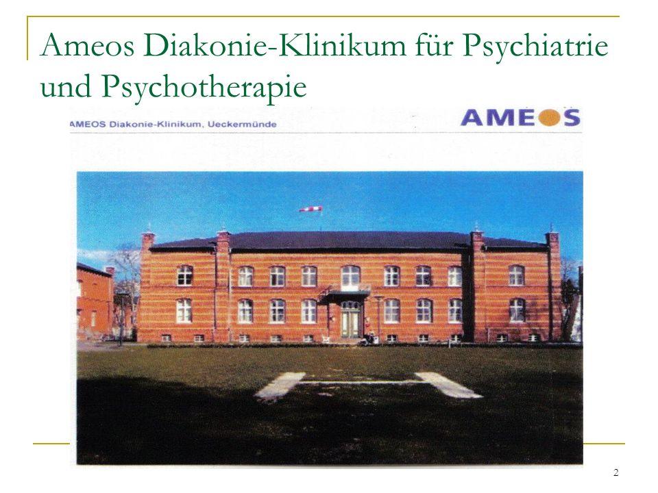 2 Ameos Diakonie-Klinikum für Psychiatrie und Psychotherapie