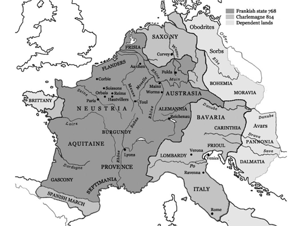 Leben des Radbert etwa 790 in der Umgebung von Soissons, um 859 in Corbie (1058 Erhebung seiner Reliquien).