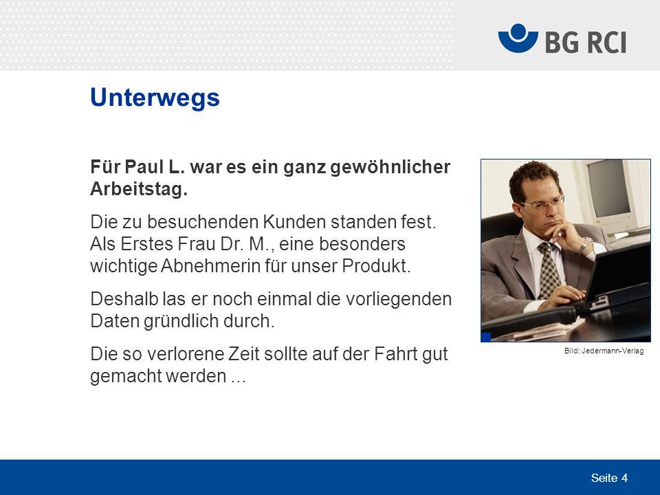 Seite 25 Arbeitsplatz (Home Office) Außendienstmitarbeiter Paul M.