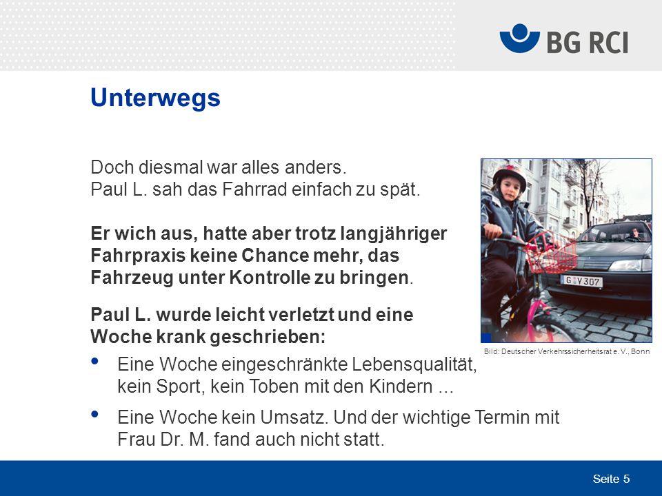 Seite 36 Transport von Lasten Weitere Informationen zum Thema Bei Ihrer Fachkraft für Arbeitssicherheit Im Faltblatt Hier können Sie ein Foto Ihrer Fachkraft für Arbeitssicherheit einfügen.