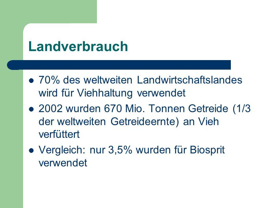 Landverbrauch Landver- brauch pro Jahr VeganerVegetarierOmnivore 7.250m 2 21.750m 2 145.000m 2 1x3x20x