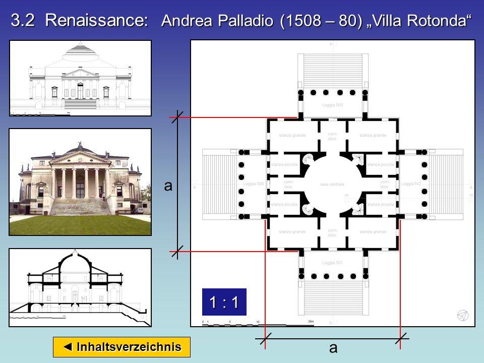 Inhaltsverzeichnis Inhaltsverzeichnis b : c b : c GoldenerSchnitt ( Abweichung 1 : 1,56 statt 1 : 1,618) d : e = DIN- Proportion 1 : 1,414 3.1 Renaiss