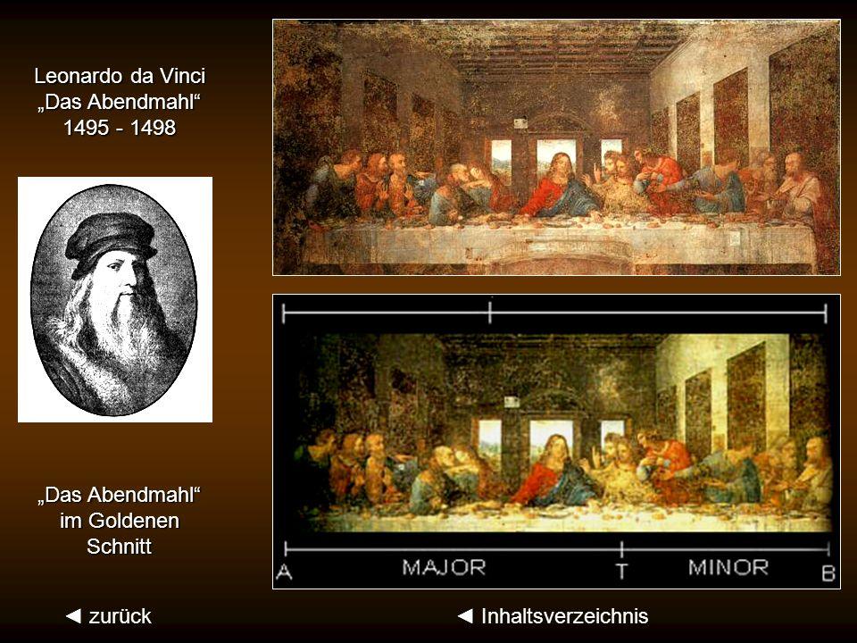 Die Fibonacci-Zahlen des Goldenen Schnittes: 1, 1, 2, 3, 5, 8, 13 … Nautilus-Muschel zurück Inhaltsverzeichnis (Leonardo von Pisa, genannt Fibonacci,
