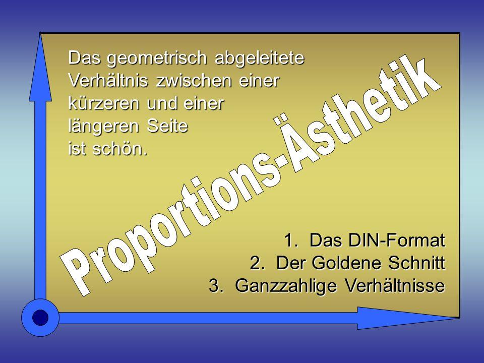 SCHÖNE VERHÄLTNISSE Ein Lernprogramm für den Kunstunterricht © j.s. computer-art-design
