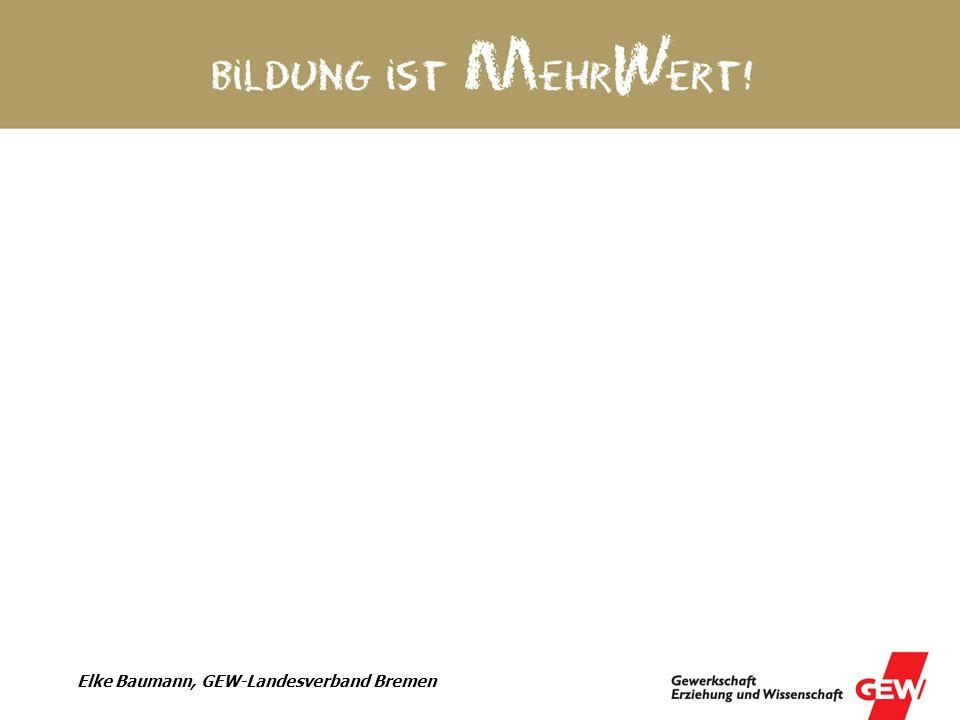 Elke Baumann, GEW-Landesverband Bremen