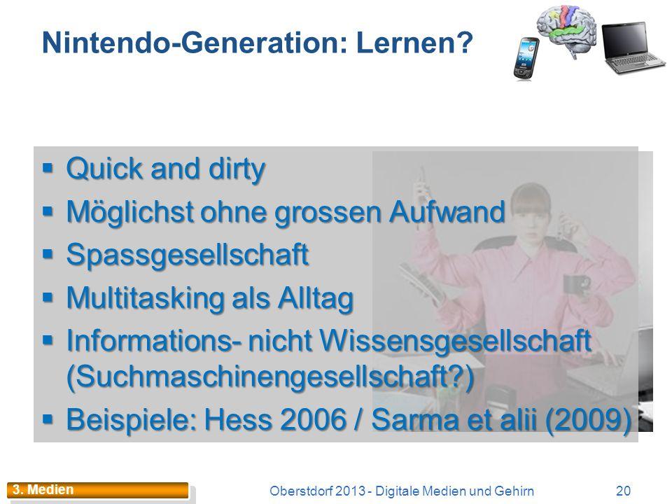 Lern-Plattformen / EduApp(let)s Oberstdorf 2013 - Digitale Medien und Gehirn19 Eine Lernplattform bzw. Learning Management System (LMS) ist ein komple