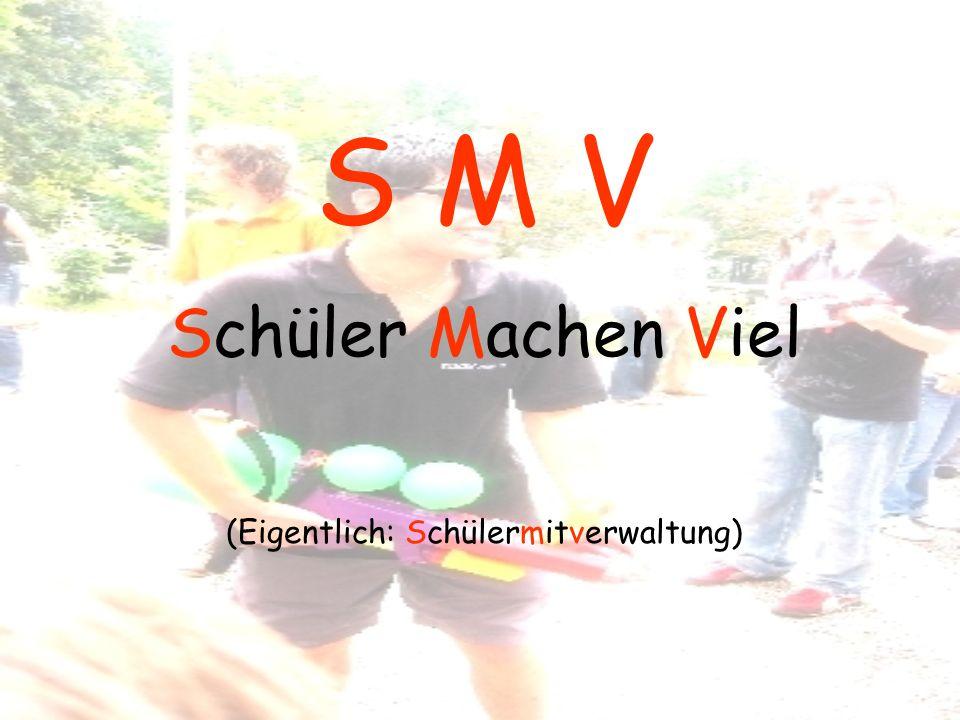 Meldet euch bei uns Keine Angst wir beißen nicht !! Eure SMV Smv.hsg@web.de