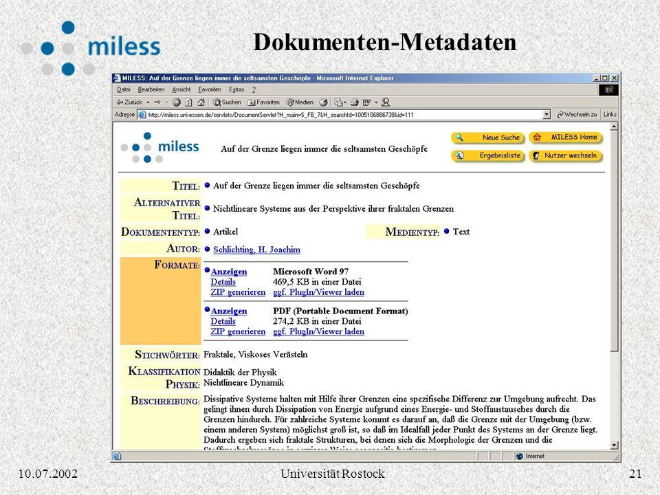 2010.07.2002Universität Rostock Ergebnisliste