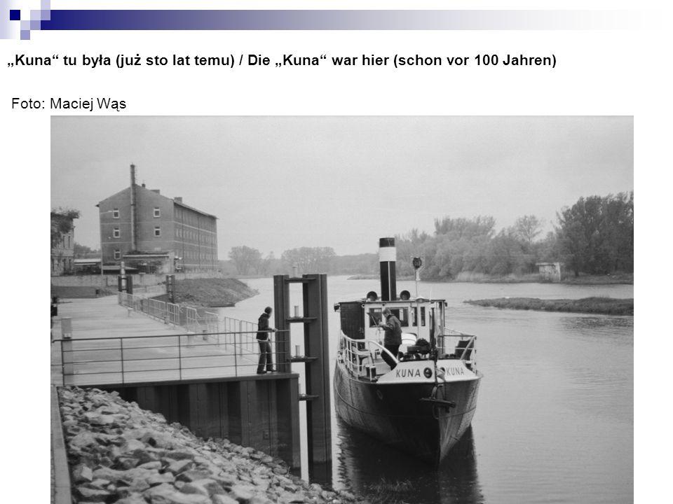 Kuna tu była (już sto lat temu) / Die Kuna war hier (schon vor 100 Jahren) Foto: Maciej Wąs