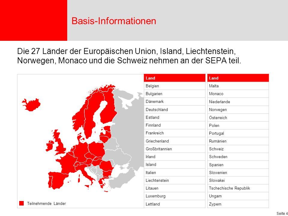 Seite 15 Die Gläubiger-ID für Deutschland ist genau 18 Stellen lang und wie folgt aufgebaut: Die Geschäftsbereichskennung ZZZ kann individuell gestaltet werden.