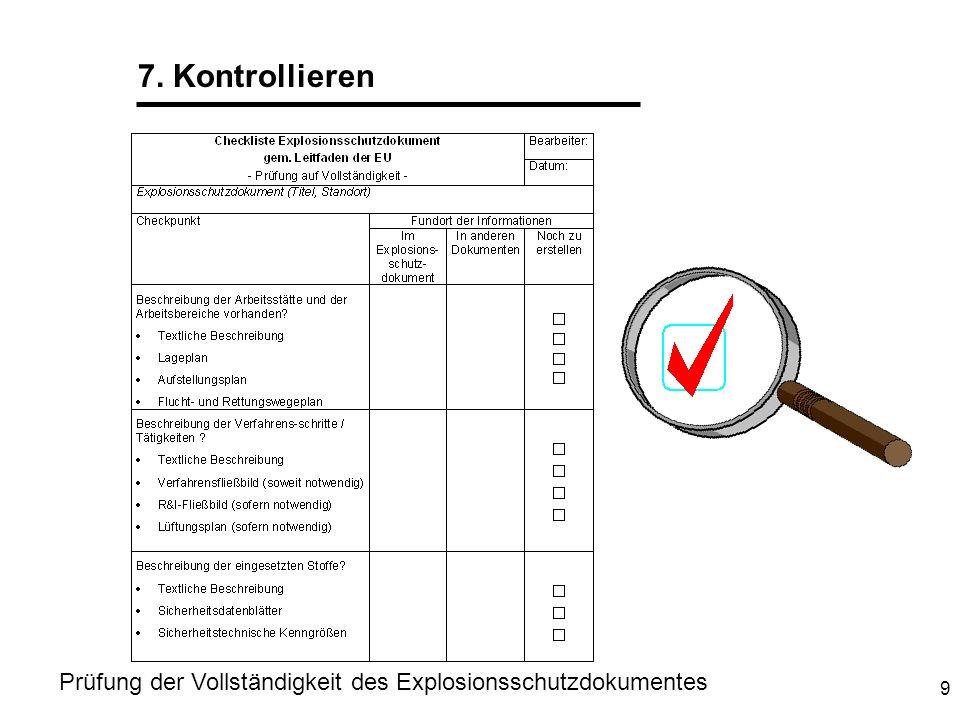 10 Weitere Maßnahmen Regelmäßige Prüfung auf Aktualität .