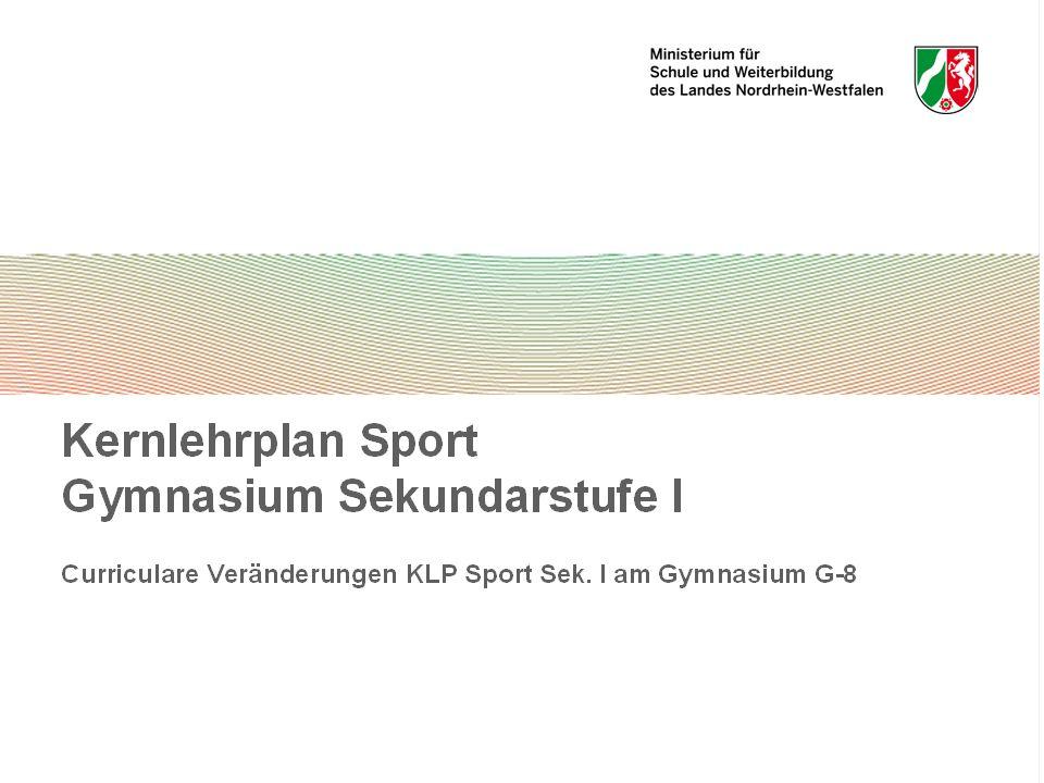 Bewegungs- und Wahrnehmungskompetenz -bildet die Grundlage für den Erwerb umfassender sportbezogener Handlungsfähigkeit.