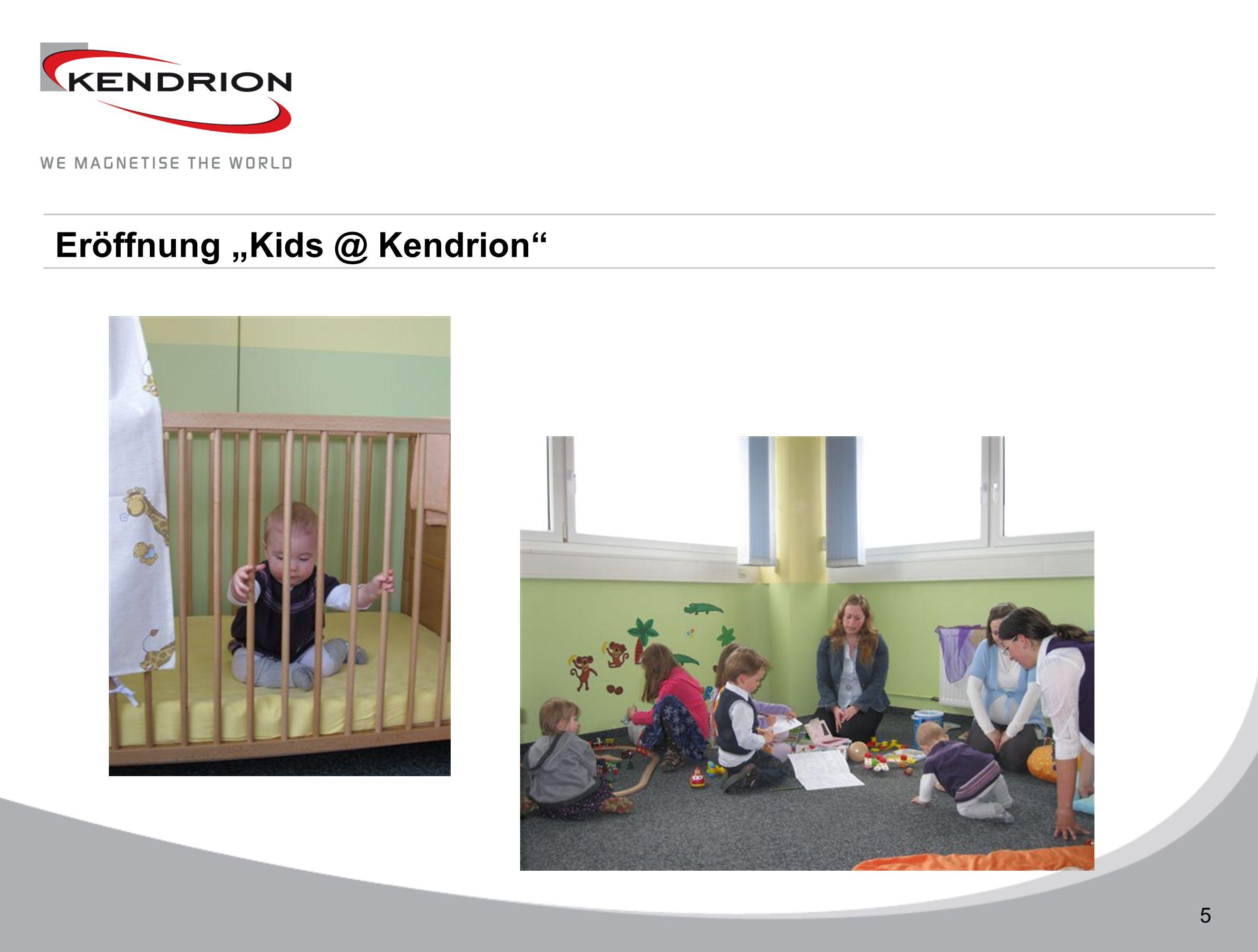 Technische Daten 5 Eröffnung Kids @ Kendrion