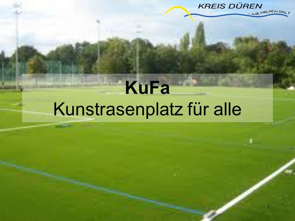 12 Zuwendungsvarianten Umwandlung Tennenplatz in Kunstrasenplatz – Westkampfbahn Zuschuss 250.000 Euro - 2 weitere Plätze im kommunalen Gebiet Zuschuss je250.000 Euro