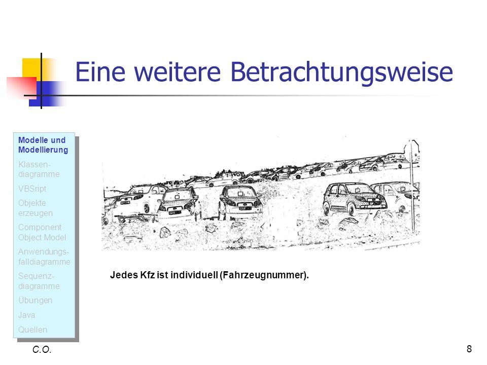 49 Sequenzdiagramm C.O.Erklärung: Das Sequenzdiagramm dient (u.