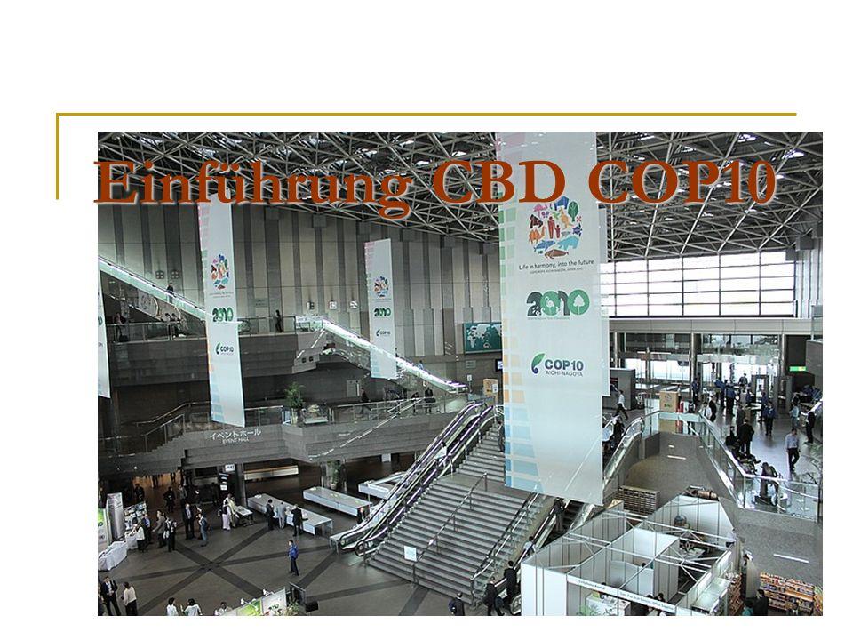 Einführung CBD COP10