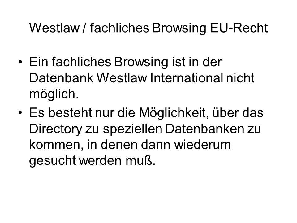 Westlaw / Directory