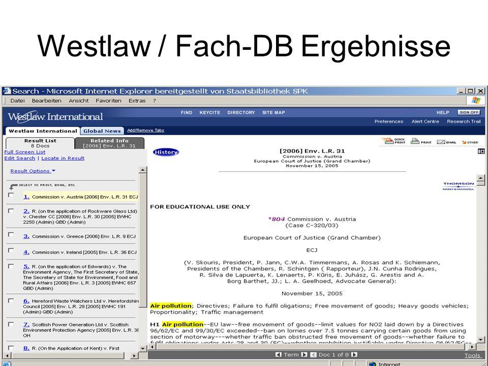 Beck-online Erreichbarkeit: 1.Über den StaBiKat durch Suche in allen Wörtern Beck-online Großer Beck http://stabikat...Beck-online 2.