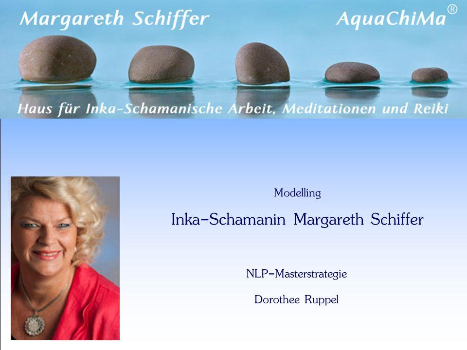Modelling Inka-Schamanin Margareth Schiffer NLP-Masterstrategie Dorothee Ruppel