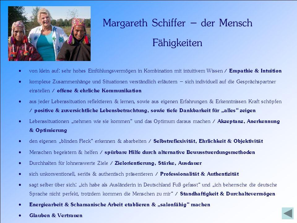 Margareth Schiffer – das höhere Selbst Glaubenssätze Es gibt immer Lösungen.