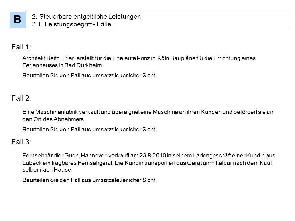 15 Fall 1: Architekt Beitz, Trier, erstellt für die Eheleute Prinz in Köln Baupläne für die Errichtung eines Ferienhauses in Bad Dürkheim. Beurteilen