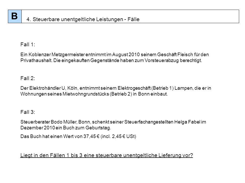 50 Fall 1: Ein Koblenzer Metzgermeister entnimmt im August 2010 seinem Geschäft Fleisch für den Privathaushalt. Die eingekauften Gegenstände haben zum