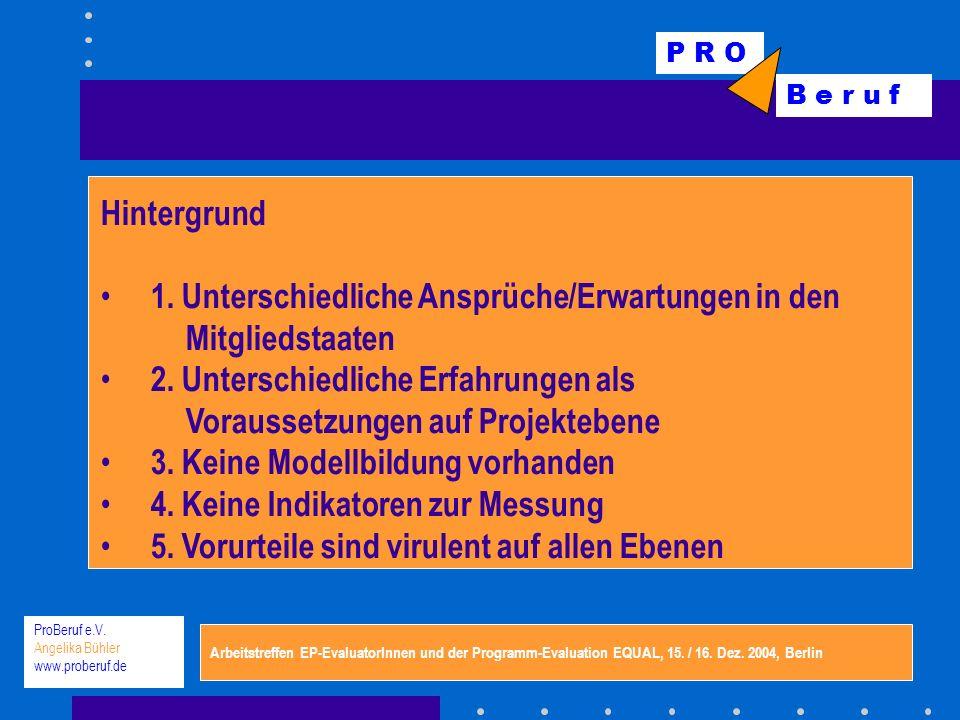 P R O B e r u f ProBeruf e.V.