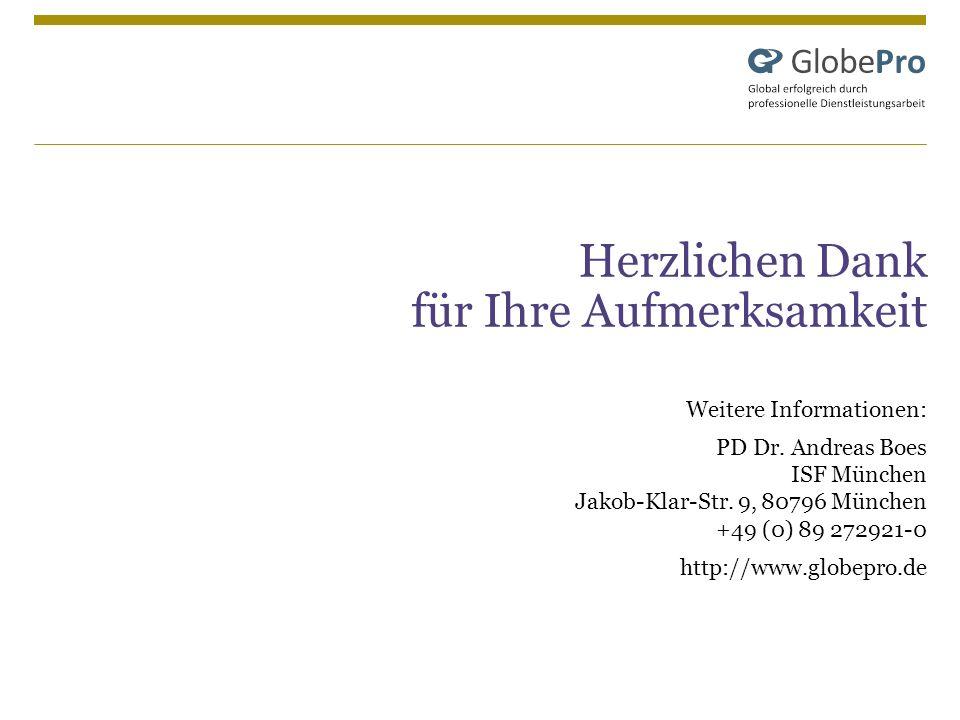 Herzlichen Dank für Ihre Aufmerksamkeit Weitere Informationen: PD Dr. Andreas Boes ISF München Jakob-Klar-Str. 9, 80796 München +49 (0) 89 272921-0 ht