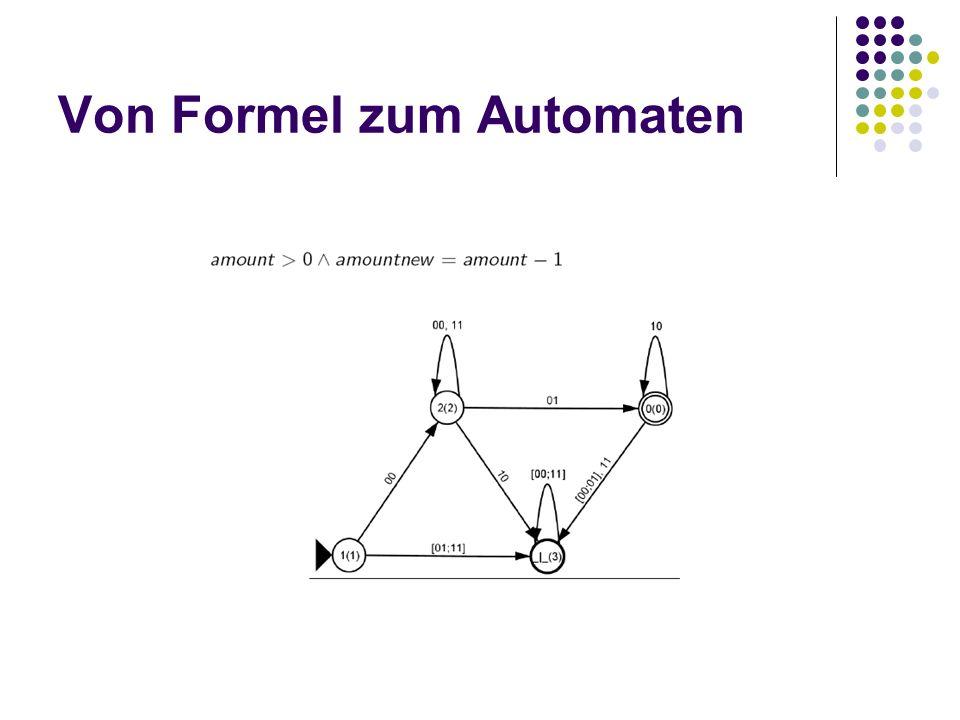Von Formel zum Automaten