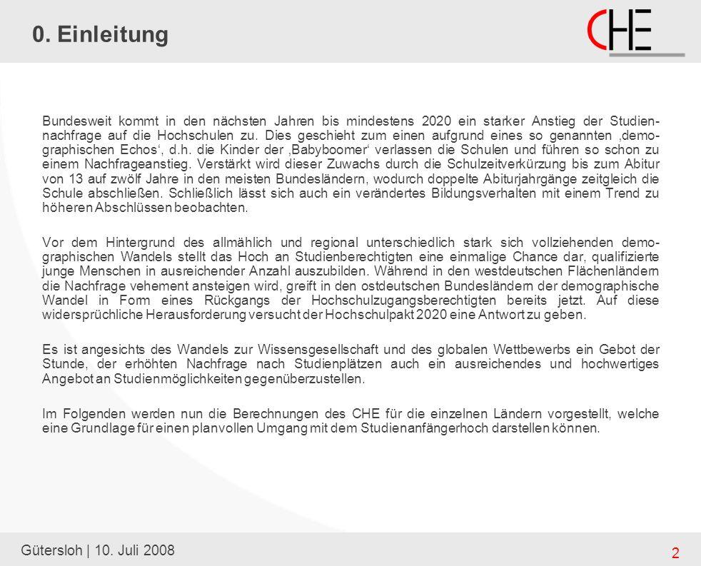 Gütersloh | 10. Juli 2008 2 0.