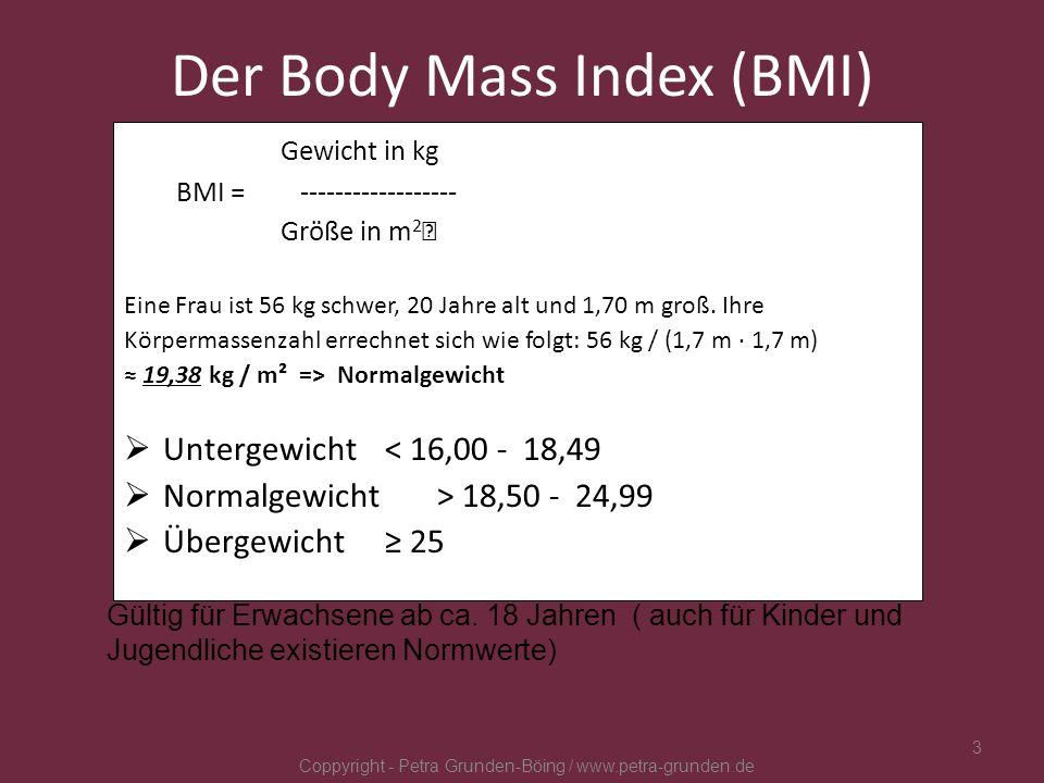 ESS - STÖRUNGEN Anorexia nervosa (Magersucht) Bulimia nervosa (Ess- Brech- Sucht) Binge Eating Störung Adipositas (Fettsucht) Coppyright - Petra Grunden-Böing / www.petra-grunden.de 4