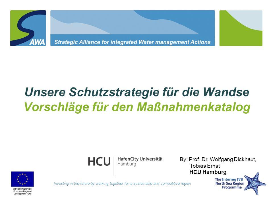 Unsere Schutzstrategie für die Wandse Vorschläge für den Maßnahmenkatalog Investing in the future by working together for a sustainable and competitiv