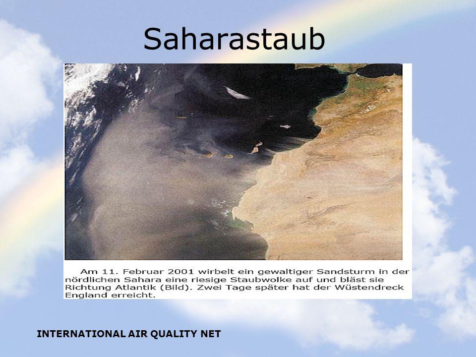Saharastaub