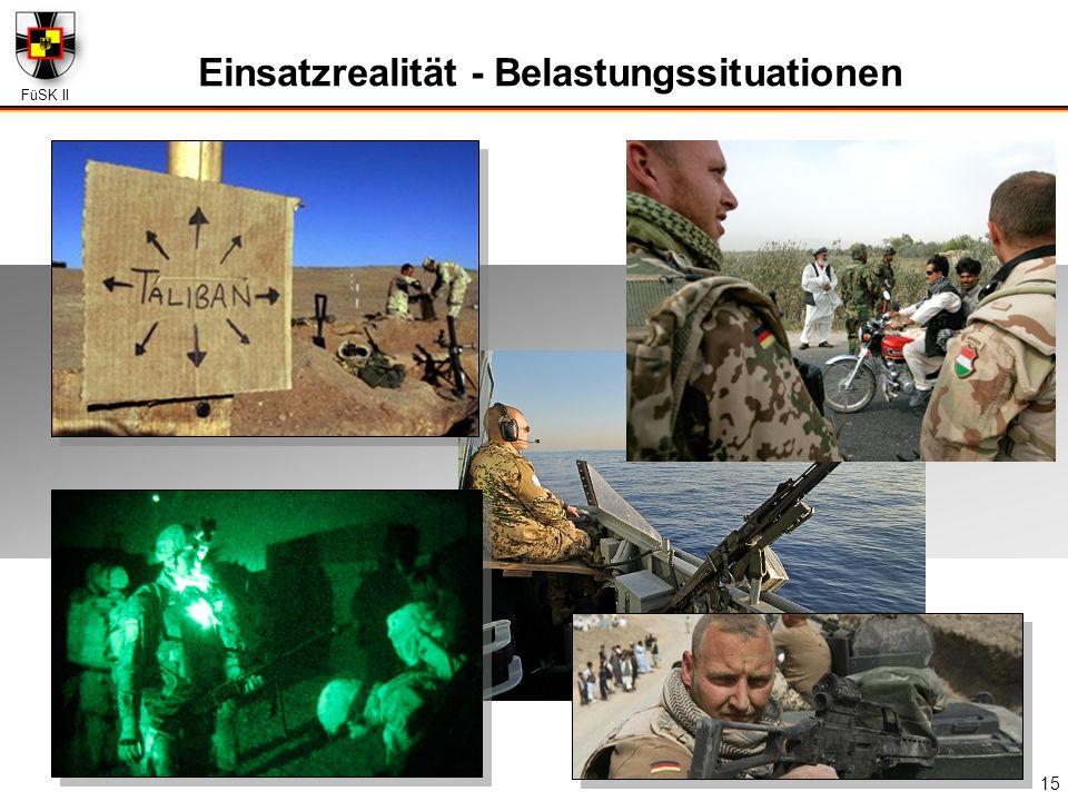 FüSK II 15 Einsatzrealität - Belastungssituationen