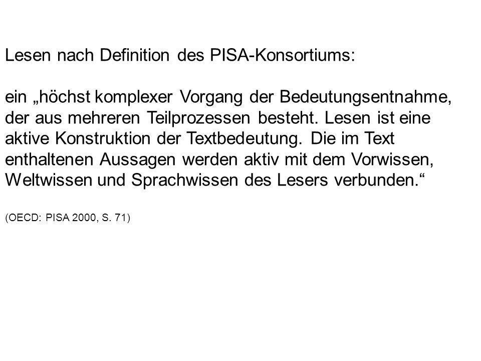 Eckhard Klieme-Expertise 2007: Festlegung von nationalen Bildungsstandards, welche Kompetenzen die Kinder oder Jugendlichen bis zu einer bestimmten Jahrgangsstufe mindestens erworben haben sollen.