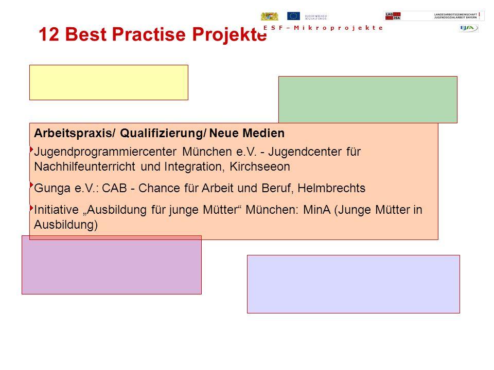 Arbeitspraxis/ Qualifizierung/ Neue Medien Jugendprogrammiercenter München e.V. - Jugendcenter für Nachhilfeunterricht und Integration, Kirchseeon Gun